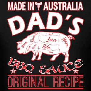 Made In Australia Dads BBQ Sauce Original Recipe - Men's T-Shirt