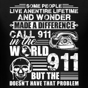 911 Dispatcher Shirts - Men's T-Shirt