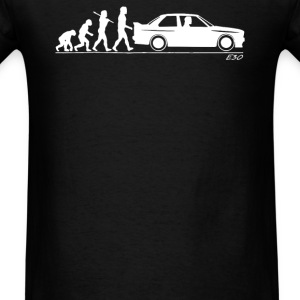 Evolution of Man BMW M3 E30 - Men's T-Shirt
