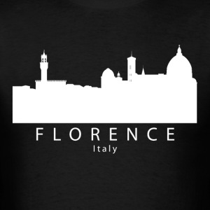 Florence Italy Skyline - Men's T-Shirt