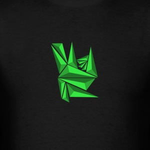 Green Neo Shards - Men's T-Shirt