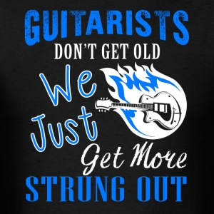 Guitarists Don't Get Old Shirt - Men's T-Shirt