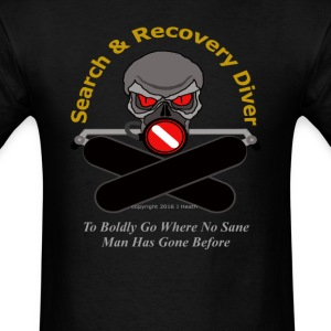 Search & Recovery Diver - To Boldly Go - Men's T-Shirt