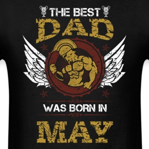 May Best Dad - Men's T-Shirt