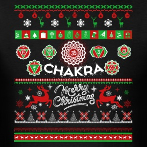 Chakra Shirt - Chakra Christmas Shirt - Men's T-Shirt