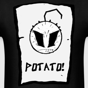 Happy Noodle Boy. potato! - Men's T-Shirt
