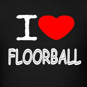 I LOVE FLOORBALL - Men's T-Shirt