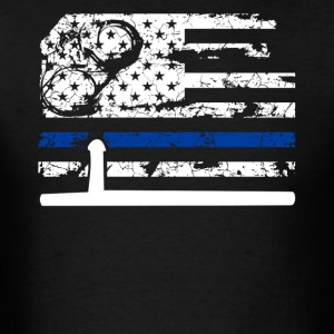 Correctional Officer Flag Shirt - Men's T-Shirt