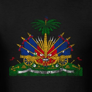 Haitian Coat of Arms Haiti Symbol - Men's T-Shirt