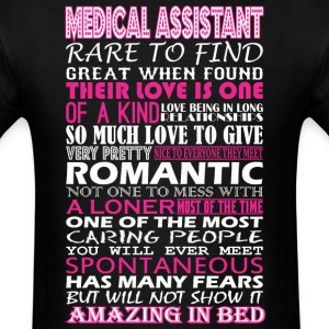 Medical Assistant Rare Find Romantic Amazing Bed - Men's T-Shirt