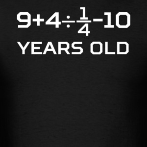 15 Years Old Algebra Equation 15th Birthday - Men's T-Shirt