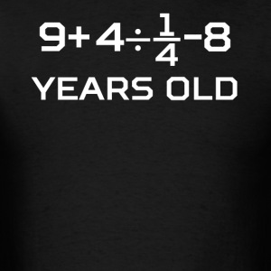 17 Years Old Algebra Equation 17th Birthday - Men's T-Shirt