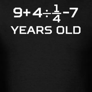 18 Years Old Algebra Equation 18th Birthday - Men's T-Shirt