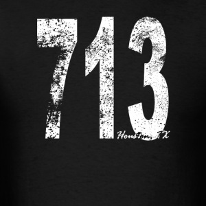 Vintage Houston Area Code 713 - Men's T-Shirt