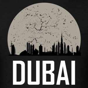 Dubai Full Moon Skyline - Men's T-Shirt