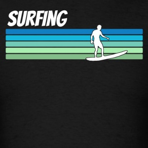 Retro Surfing - Men's T-Shirt