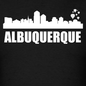 Albuquerque NM Skyline - Men's T-Shirt