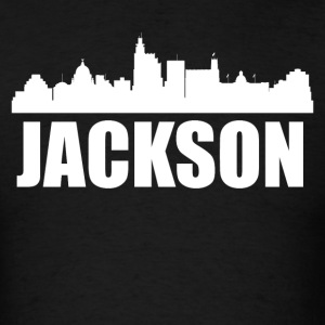Jackson MS Skyline - Men's T-Shirt