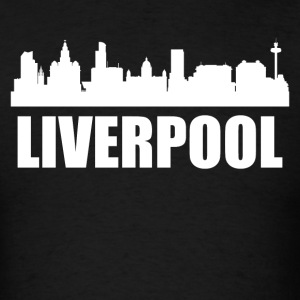 Liverpool Skyline - Men's T-Shirt