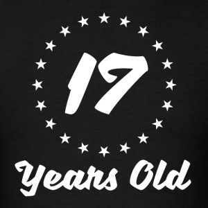 17 Years Old - Men's T-Shirt