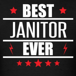 Best Janitor Ever - Men's T-Shirt