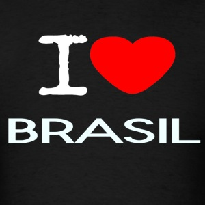 I LOVE BRASIL - Men's T-Shirt