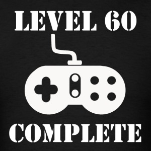 Level 60 Complete 60th Birthday - Men's T-Shirt