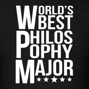 World's Best Philosophy Major - Men's T-Shirt