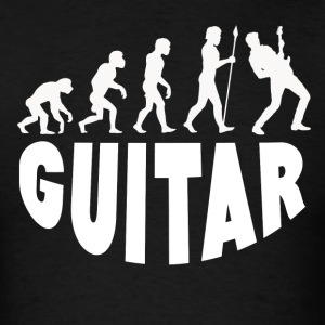 Guitar Evolution - Men's T-Shirt