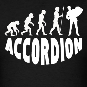 Accordion Evolution - Men's T-Shirt