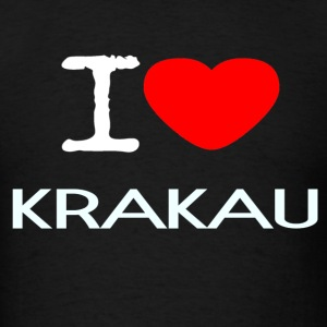 I LOVE KRAKAU - Men's T-Shirt