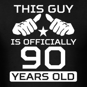 This Guy Is 90 Years Funny 90th Birthday - Men's T-Shirt