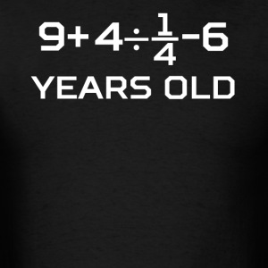 19 Years Old Algebra Equation 19th Birthday - Men's T-Shirt