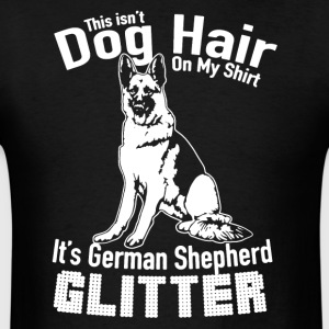 German Shepherd Glitter Shirt - Men's T-Shirt