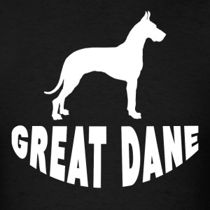 Great Dane Silhouette - Men's T-Shirt