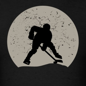 Hockey Full Moon - Men's T-Shirt