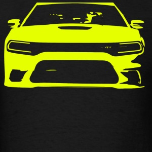 Yellow SRT Charger - Men's T-Shirt