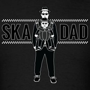 Ska Dad (with Rude Boy Son) - Men's T-Shirt