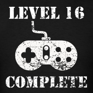 Level 16 Complete 16th Birthday - Men's T-Shirt