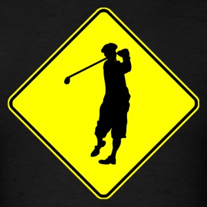 Golfer Crossing - Men's T-Shirt