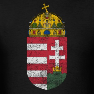 Hungarian Coat of Arms Hungary Symbol - Men's T-Shirt