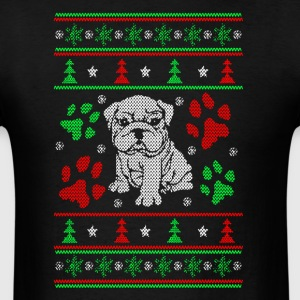 Bulldog Christmas Shirts - Men's T-Shirt