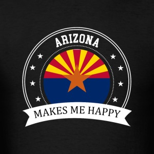 Arizona Makes Me Happy - Men's T-Shirt