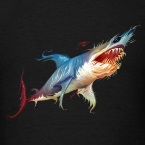 Colorful Shark - Men's T-Shirt