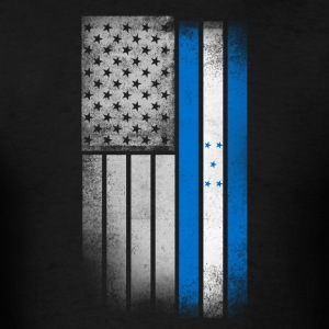 Honduran American Flag - Men's T-Shirt