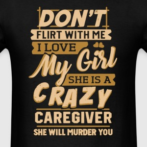 Caregiver's Man Shirt - Men's T-Shirt