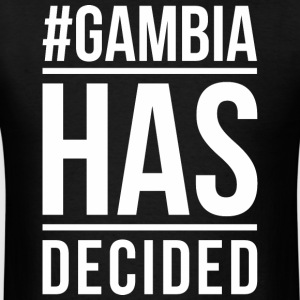 Gambia Has Decided - Men's T-Shirt