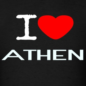 I LOVE ATHEN - Men's T-Shirt