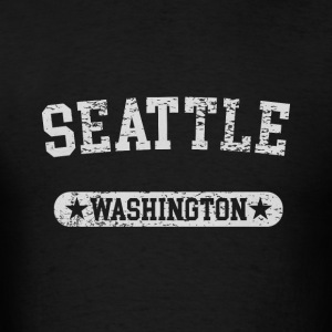 Seattle Washington - Men's T-Shirt