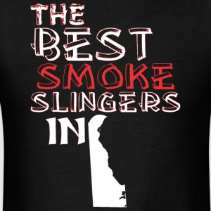 The Best Smoke Slingers In Delaware Barbecue - Men's T-Shirt